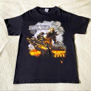 Front Line Assembly  2006 Tour Black T-shirt